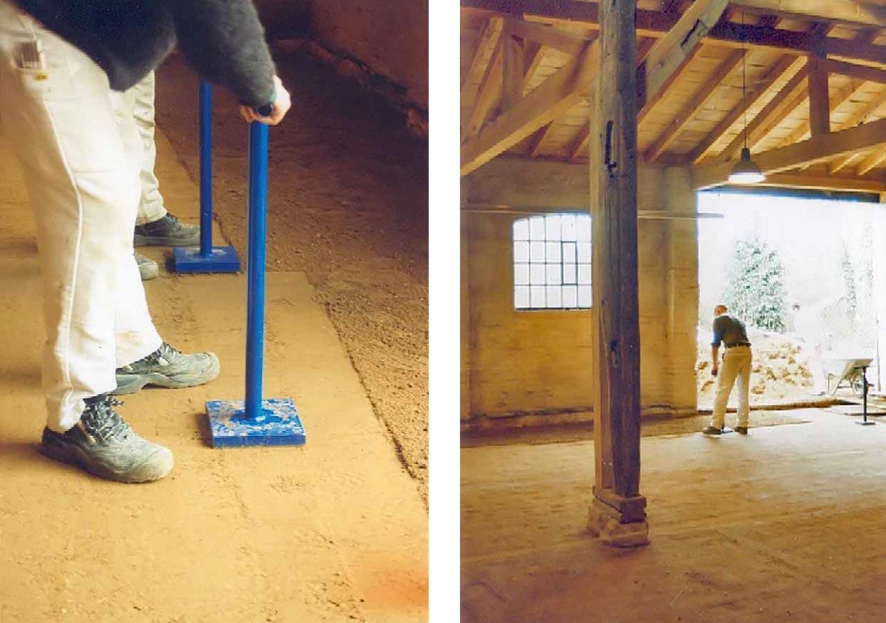 Fußboden Braun Oriflame ~ Fußboden aus lehm » warmedammung fussboden bodenverlegung