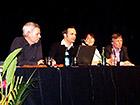 LEHM 2012: Der neu gewählte Vorstand des Dachverbands Lehm e.V. (v.l.n.r.): Ulrich Röhlen, Dr. Christof Ziegert, Dr. Constanze Küsel, Manfred Lemke