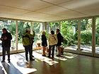 LEHM 2012: Neubau am Hummelhaus in Weimar, Stahlbetonskelett mit Lehminnenputzen