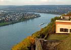 Blick von der Festung Ehrenbreitstein