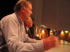 Die Lehmbau Fachtagung: Dr. Horst Schroeder und Dr. Klaus Dierks