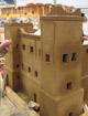 1:10 Modell der südmarokkanischen Kasbah Ait el Kaid