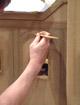Detail: 1:10 Modell der südmarokkanischen Kasbah Ait el Kaid