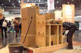 Im Bau: 1:10 Modell der südmarokkanischen Kasbah Ait el Kaid