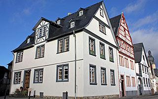 Floßherrenhaus am Rheinufer, Koblenz